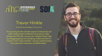 Trevor Hinkle - Quote